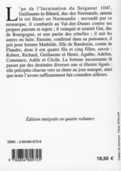 Histoire de Normandie t.3 - 4ème de couverture - Format classique
