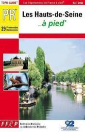 Hauts de seine a pied - 92-pr-d092 - Couverture - Format classique