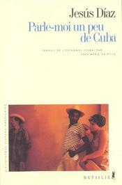 Parle-Moi Un Peu De Cuba - Intérieur - Format classique