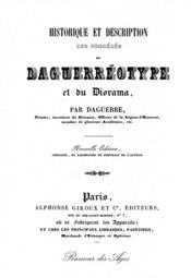 Historique et description du daguerreotype - Couverture - Format classique