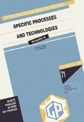 Recents progres en genie des procedes vol 13 n 71 specific processes and technologies ecce 2 confere - Couverture - Format classique