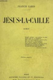 Jesus La Caille. - Couverture - Format classique