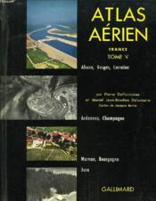Atlas Aerien, France, Tome V - Couverture - Format classique