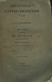 Oeuvres Completes De Seneque Le Philosophe. Tome Septieme. - Couverture - Format classique