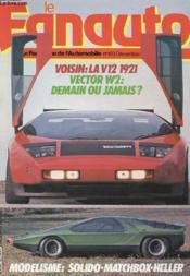 Le Fanauto N°183 - Voisin : La V12 1921 - Vector W2 : Demain Ou Jamais ? - Couverture - Format classique