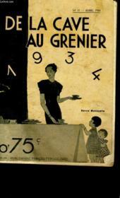 De La Cave Au Grenier N° 37 - Couverture - Format classique