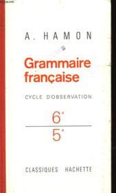 Grammaire Francaise - Couverture - Format classique