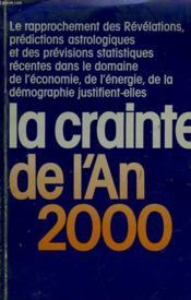 La Crainte De L'An 2000 - Couverture - Format classique