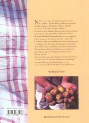 Les recettes secrètes des amoureux de la patate - 4ème de couverture - Format classique