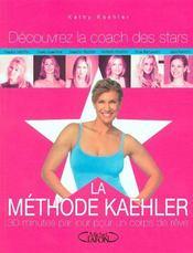 La methode kaehler - 30 minutes par jours un corps de reve - decouvrez la coach des stars - Intérieur - Format classique