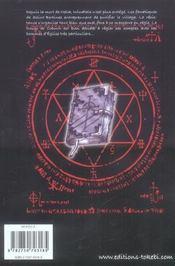 Priest T.16 - 4ème de couverture - Format classique