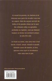 Reconfort Pour L'Ame - 4ème de couverture - Format classique
