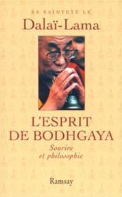 L esprit de bodhgaya - Couverture - Format classique
