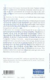 T2 Langage Emotionnel Du Corps - 4ème de couverture - Format classique