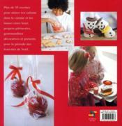 La cuisine de Noël avec les enfants - 4ème de couverture - Format classique