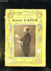Alfred Capus. - Couverture - Format classique
