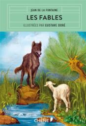 Les fables de la Fontaine illustrées par Gustave Doré - Couverture - Format classique