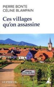 Ces villages qu'on assassine - Couverture - Format classique
