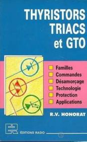 Thyristors Triacs Et Gto - Couverture - Format classique