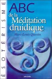 Abc de la méditation druidique - Couverture - Format classique