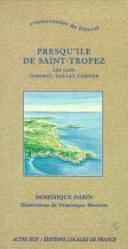 Conservatoire du littoral - presqu'ile de saint-tropez, les caps camarat, tailla - Couverture - Format classique