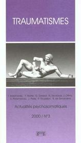 Traumatismes - Intérieur - Format classique