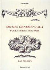 Motifs ornementaux ; sculptures sur bois, bas reliefs - Intérieur - Format classique