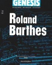 Roland Barthes - Couverture - Format classique