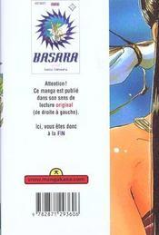 Basara T.3 - 4ème de couverture - Format classique