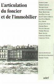 L'Articulation Du Foncier Et De L Immobilier - Couverture - Format classique