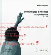Gymnastiques détendues - Couverture - Format classique
