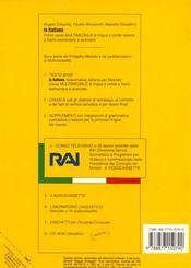 In Italiano 2 - 4ème de couverture - Format classique