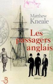 Les passagers anglais - Couverture - Format classique