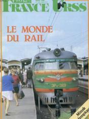 Revue - France Urss Magazine - Mars 1980 - N°126 - Le Monde Du Rail - Minsk Olympique - Couverture - Format classique