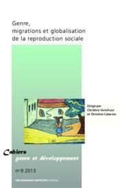 Genre, migrations et globalisation de la reproduction sociale - Couverture - Format classique
