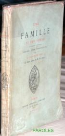 Une famille au XVIe siècle - document original. - Couverture - Format classique