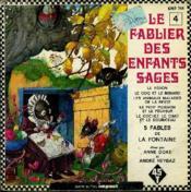 Livre-disque 45t // Le fablier des enfants sages n°4 - Couverture - Format classique