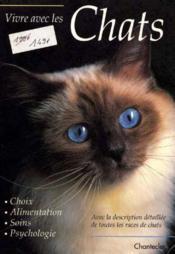 Vivre Avec Les Chats - Couverture - Format classique