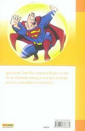 Superman t.1 - 4ème de couverture - Format classique