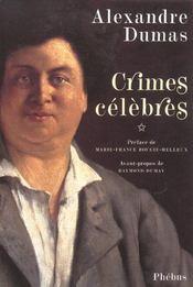 Crimes célèbres t.1 - Intérieur - Format classique