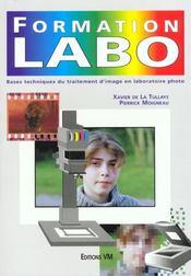 Formation labo. bases techniques du traitement d'image en laboratoire photo - Intérieur - Format classique