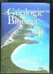 Biologie 4° - Couverture - Format classique