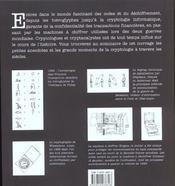 Langages Secrets ; Codes Et Ciphers ; Signes Symboles Et Cryptographie - 4ème de couverture - Format classique