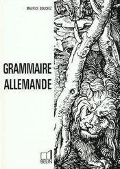 Grammaire allemande - Intérieur - Format classique