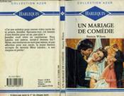 Un Mariage De Comedie - Temporary Bride - Couverture - Format classique