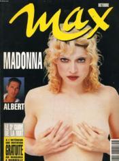 MAX n°51 : Madonna - Albert - Couverture - Format classique