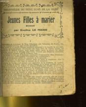 Jeunes Filles A Marier - Couverture - Format classique