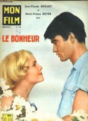 Mon Film N° 739 - Le Bonheur - Couverture - Format classique