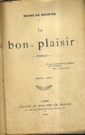 Le Bon Plaisir / 7e Edition. - Couverture - Format classique