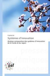 Systèmes d'innovation - Couverture - Format classique